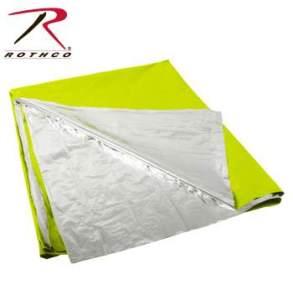 Rothco Polarshield Survival Blanket - 1044-A - Green