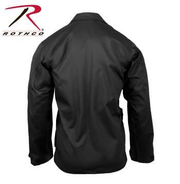 Rothco Poly-Cotton Twill Solid BDU Shirts - 7970-D - Black