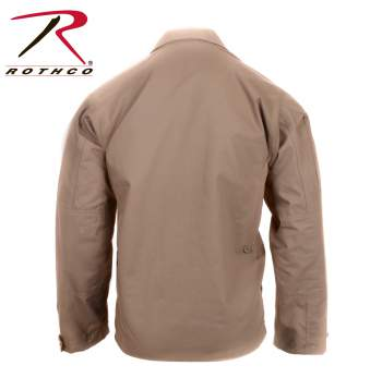 Rothco Rip-Stop BDU Shirt - Khaki - 5854-D