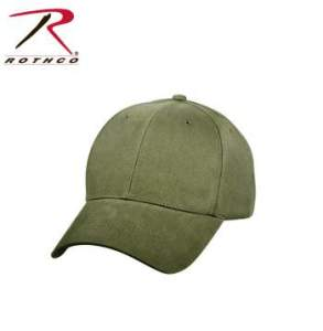 Rothco Supreme Solid Color Low Profile Cap - 8289-hr1 - Olive Drab