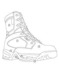 TRU-SPEC TAC Assault 9 Boots - 4062