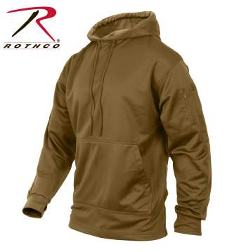 Rothco Concealed Carry Hoodie - 2081-B1-Brown