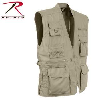 Rothco Plainclothes Concealed Carry Vest - Khaki - 8567-Khaki-B2