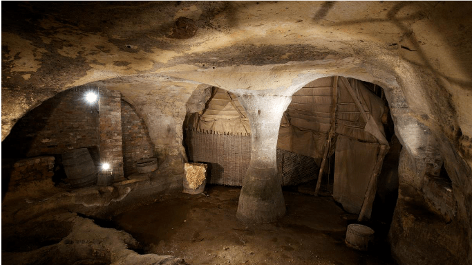 The city of caves