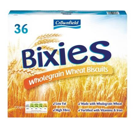Bixies crownfield cereals