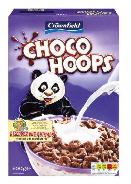 choco hoops crownfield cereals