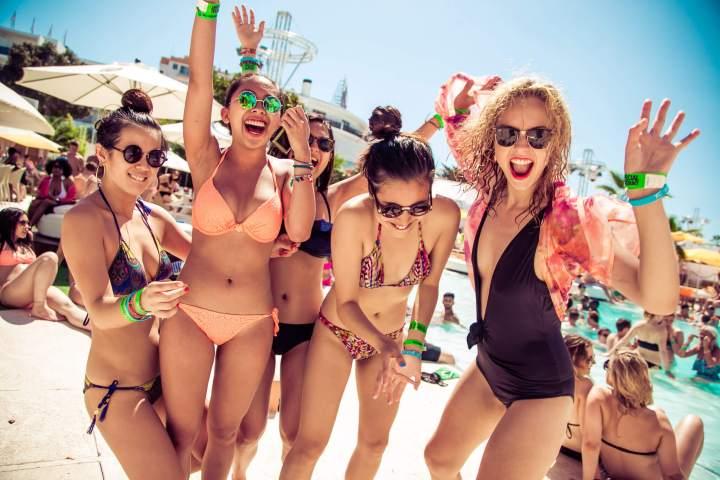 Ibiza girls holiday