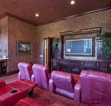Adrienne Maloof cinema room