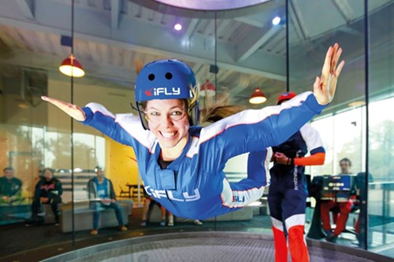 Free flights with Ifly