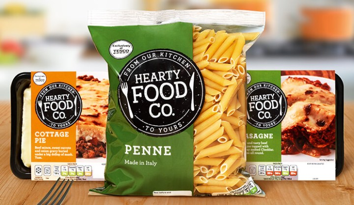 Tesco own-brand Hearty Food Co