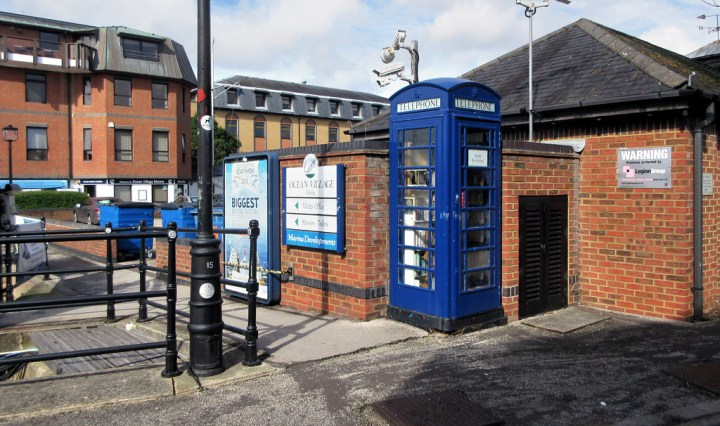 Ocean Village Book Exchange southampton