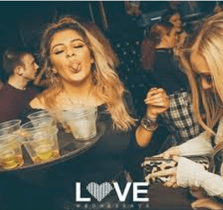 student nights in Edinburgh on Wednesdays