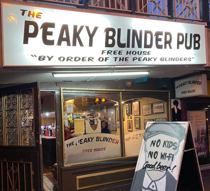 Peaky Blinder Birmingham
