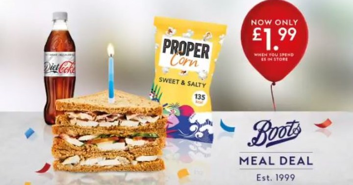 Boots meal deal