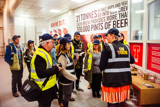Tennents Brewery Tour, Glasgow