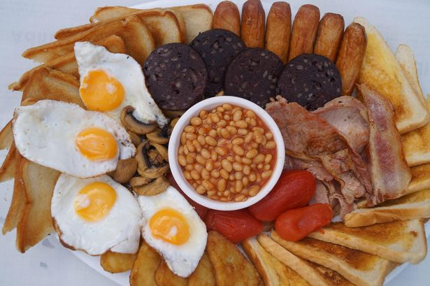 The Wonder Cafe breakfast