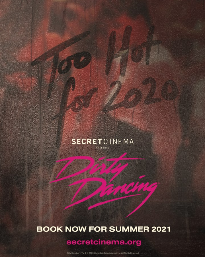 Secret cinema dirty Dancing