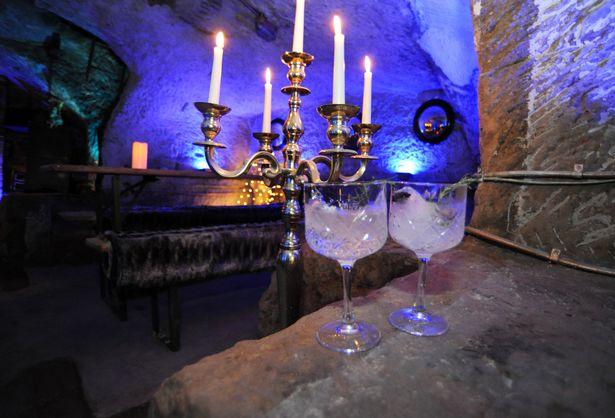 Lost Caves secret bar Nottingham