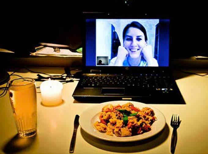 Online Dinner Date