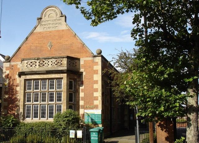 Radford Lenton public library