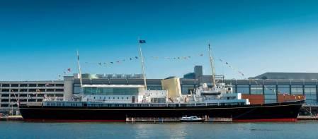 The Royal Yacht Britannia