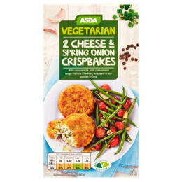 Vegetarian Cheese & Spring Onion Crispbakes