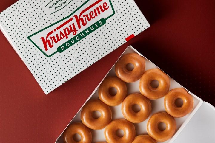 Krispy Kreme free food