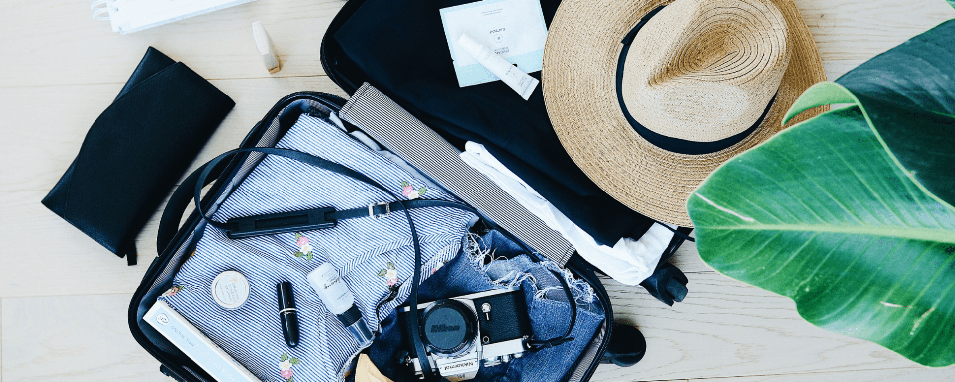 packing for a staycation