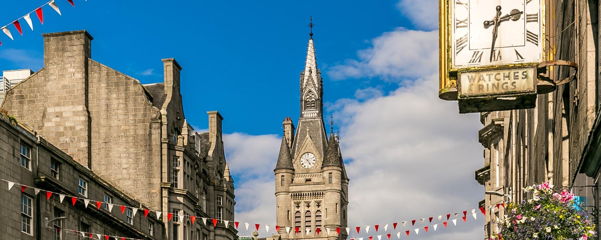 best halls in Aberdeen