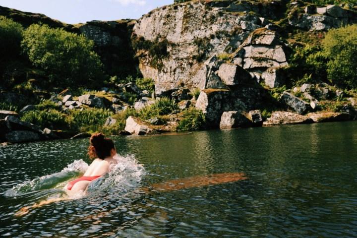 Cornwall wild swimming