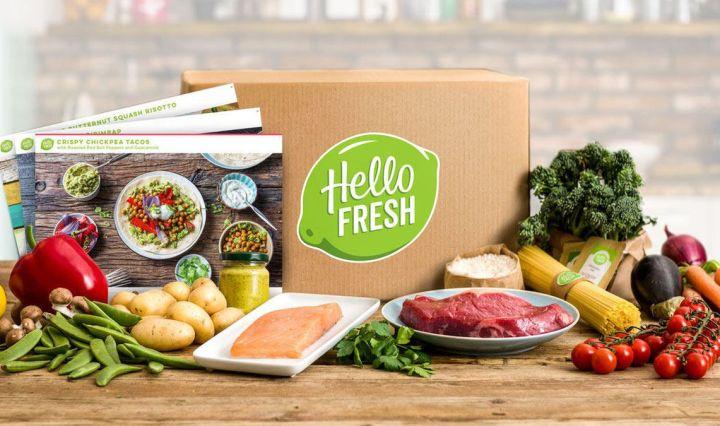 Win 5X Hello Fresh boxes