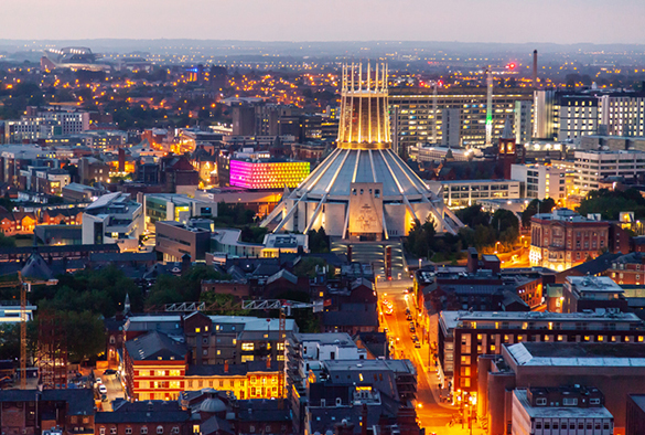 cheap staycation in Liverpool
