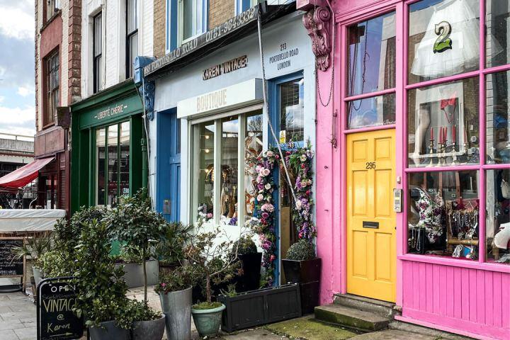 notting hill independent shops