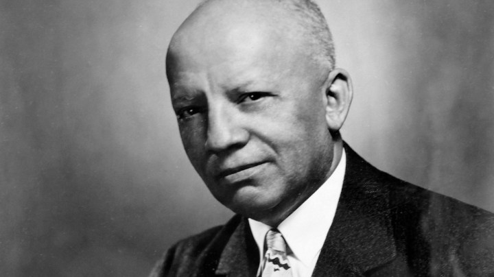 Carter G Woodson black history month