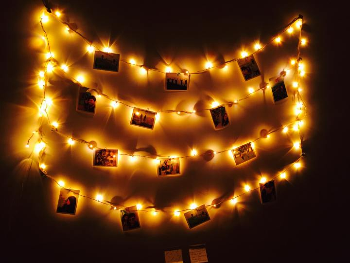 How to make your uni room feel more like home - fairy lights