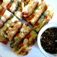 Haemul Pajeon (Korean Seafood Pancake)