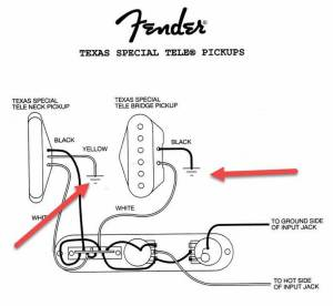 Fender® Forums • View topic  Texas Special Wiring Diagram