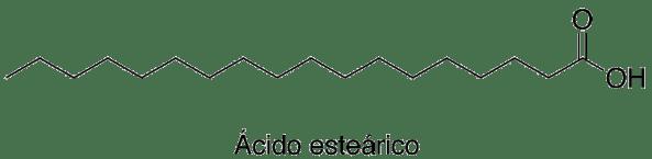 Resultado de imagen para ácido esteárico