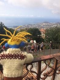 Blick von Monte nach Funchal