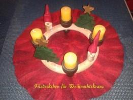Weihnachtsdeckchen
