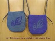 Taschen lila