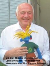 Ladislav Kubes, Komponist und Ensemble-Leiter