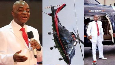 Yet another helicopter to ease the spread of the gospel