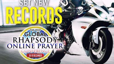 Stream The 2020 Global Rhapsody Online Prayer Conference