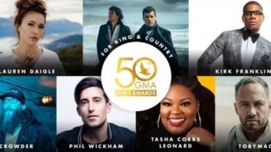 nomination list for 50th Annual GMA Dove Awards