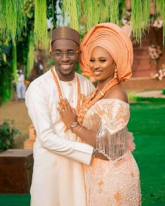 Check Out Beautiful Photos From GUC & Nene Ntuk Traditional Marriage