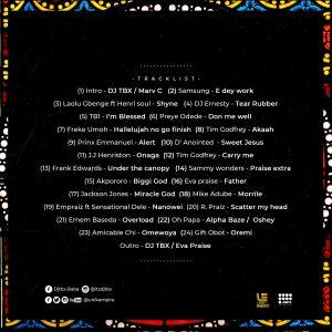 Praise Party Mixtape by DJ TBX