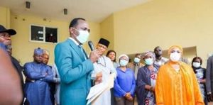 Dr. Paul Enenche of Dunamis donates safety items medical equipment to combat COVID-19 in Abuja