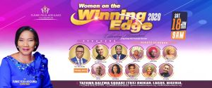 Rev Funke Felix Adejumo Unveils Women On The Winning Edge 2020 Conference