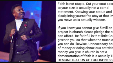 Cyude - Borrowing money to pay church fundings is not faith but foolishness